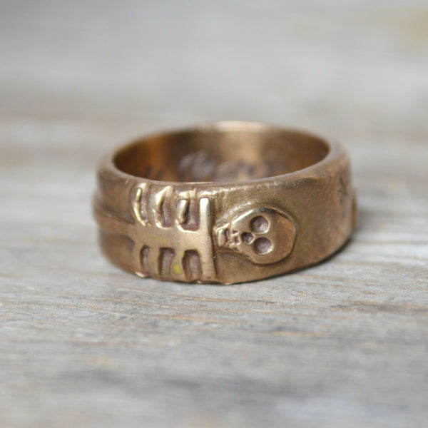 The Nature of Things Ring in Bronze