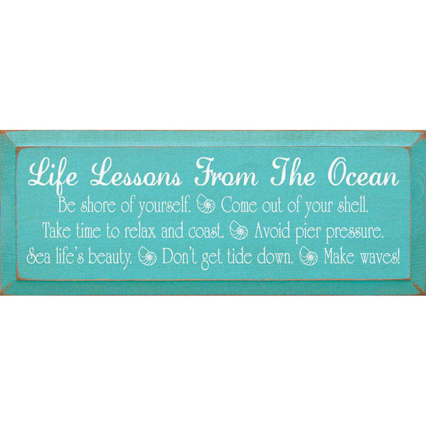 Life's Lessons From the Ocean