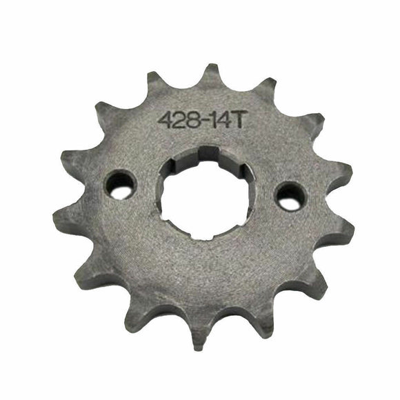 New 20mm 14T 428 Front Sprocket Cog For Thumpstar/Atomik Pit/Trail/Dirt Bike ATV