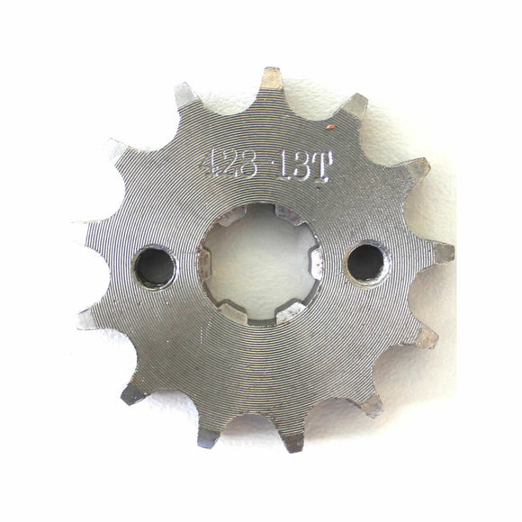 13T 428 Chain/Pitch Front Sprocket Cog 4 Pit/Trail/Dirt bike ATV Quad 17mm Shaft