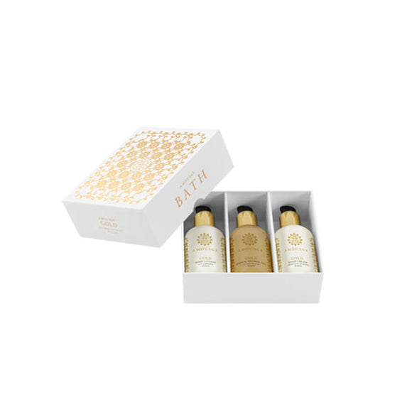 amouage gold women bath set 3pcs