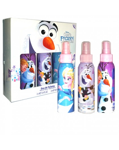 DISNEY FROZEN 3PC SET 3 EDT