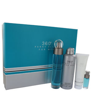 perry ellis 360 m sets 3p + eau de parfum