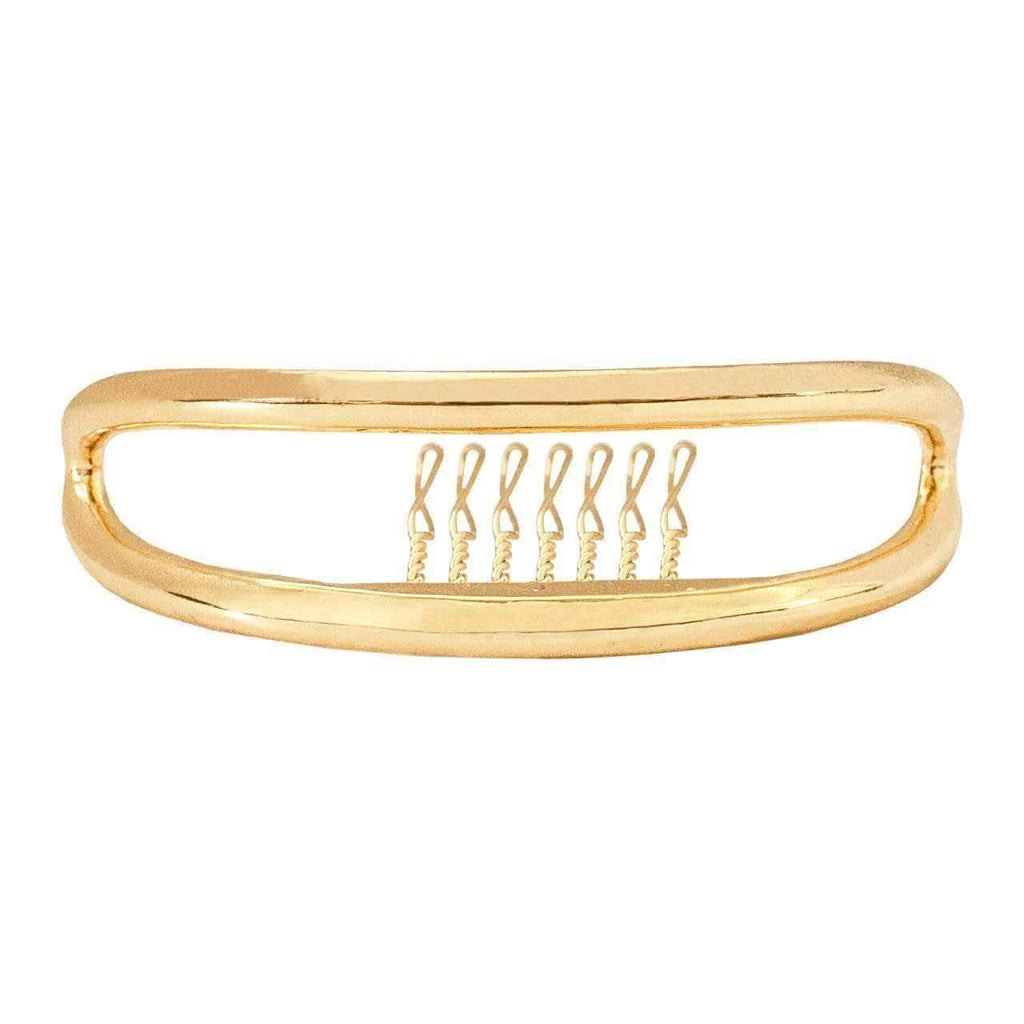 KITSCH Hair Accessories Gold Double Bar Bun Pin®
