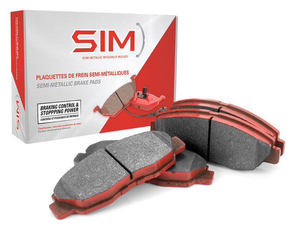 SIM Semi-Metallic Brake Pads