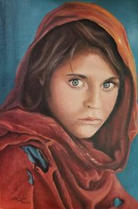 Afghan Girl on Cover of National Geographic