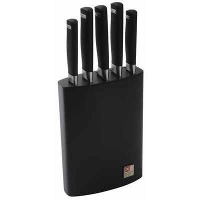 Wonderchef Laser Soft Touch 5Pc Knife Block Set-Kitchen Accessories