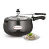 Wonderchef Raven Pressure Cooker Hard Anodized Inner SS Lid 5 Litres