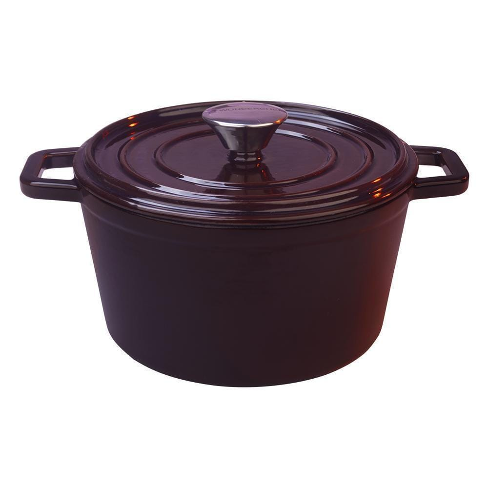 Wonderchef Ferro Cast-iron Casserole with lid 24cm