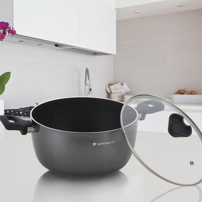 Wonderchef Ballerina 20Cm Casserole With Lid-Cookware