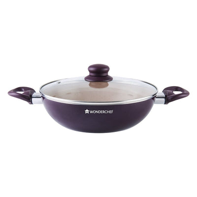Wonderchef Milano Set-Burgundy-Cookware