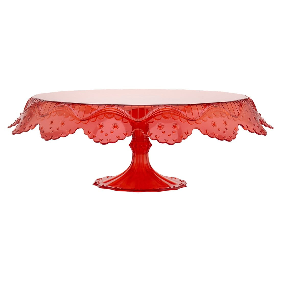 Wonderchef Pavoni Papillon Red Cake Stand