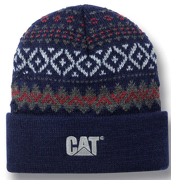 Patterned Knit Cap