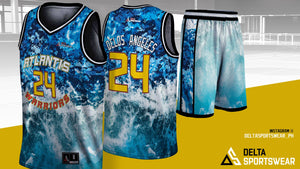 Full Sublimation Jersey Set (Your Own Design)