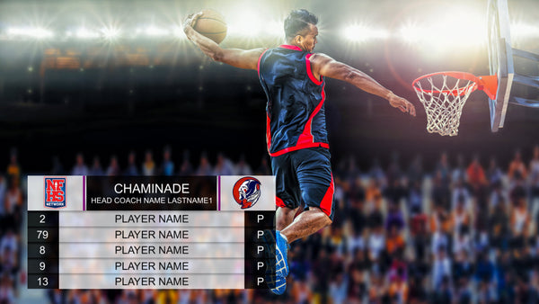 Basketball Graphics Bundle 1 (XPression)