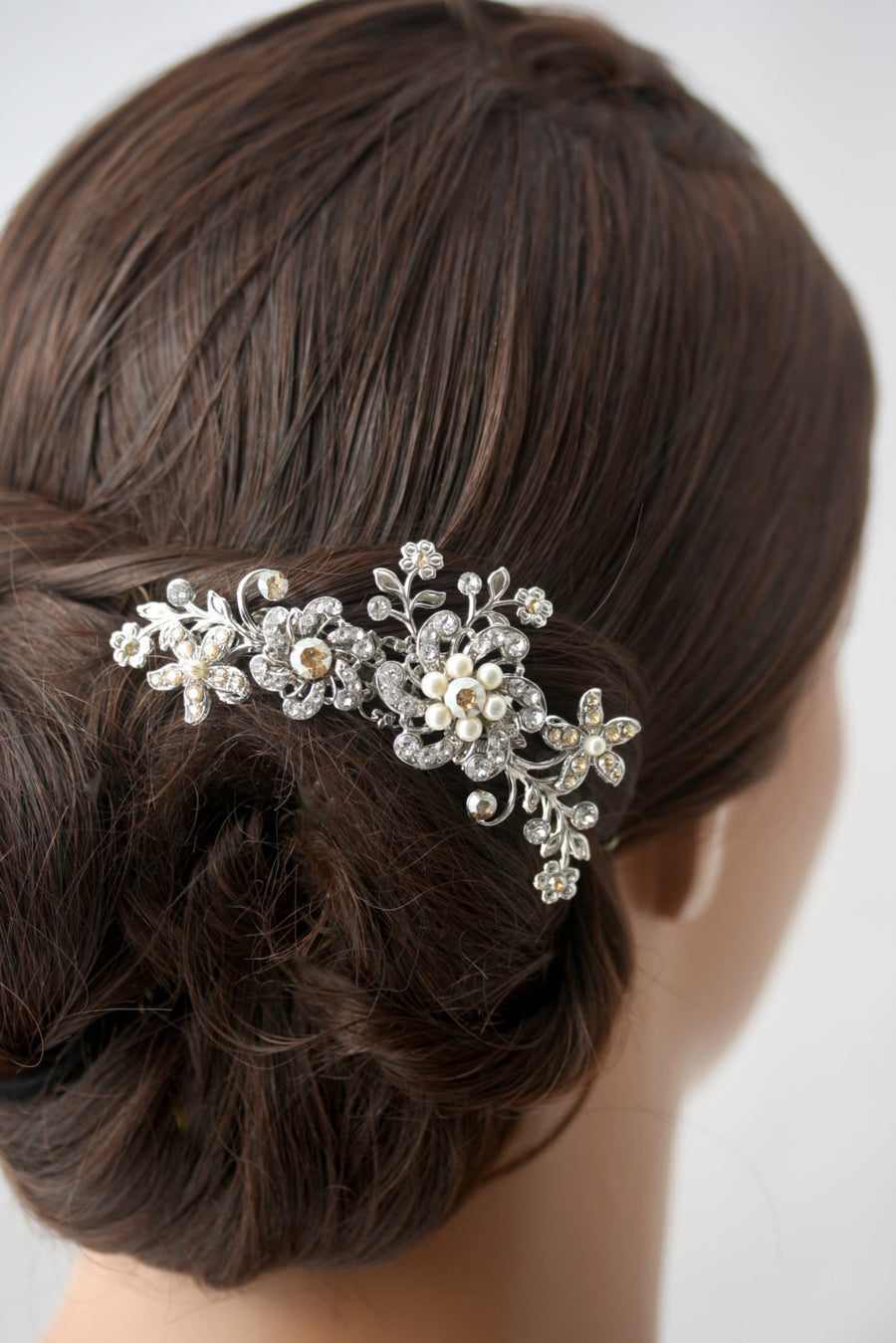 Sabine Crystal Wedding Comb