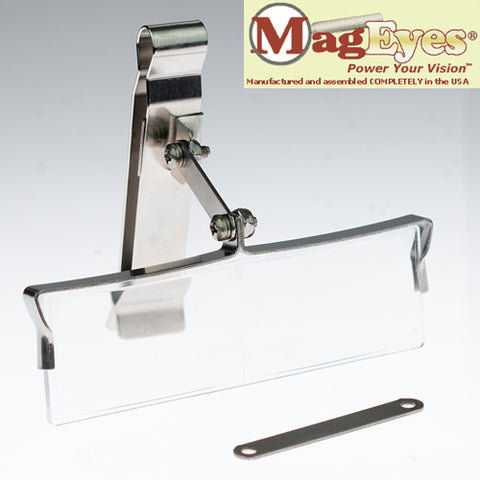 HatEyes clip on magnifiers by MagEyes USA