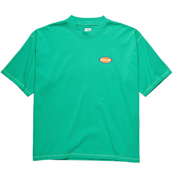 Polar Skate Co. - Station Logo Surf T-shirt i Grøn