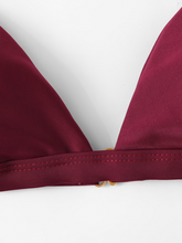 Load image into Gallery viewer, Burgundy Bikini Set
