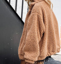 Load image into Gallery viewer, Butterscotch Plush Teddy Coat // Oversized Faux Fur Vegan Lambswool Jacket
