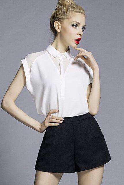 Classic White Blouse