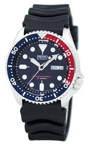 seiko skx009j1 for sale rubber resin strap uk usa