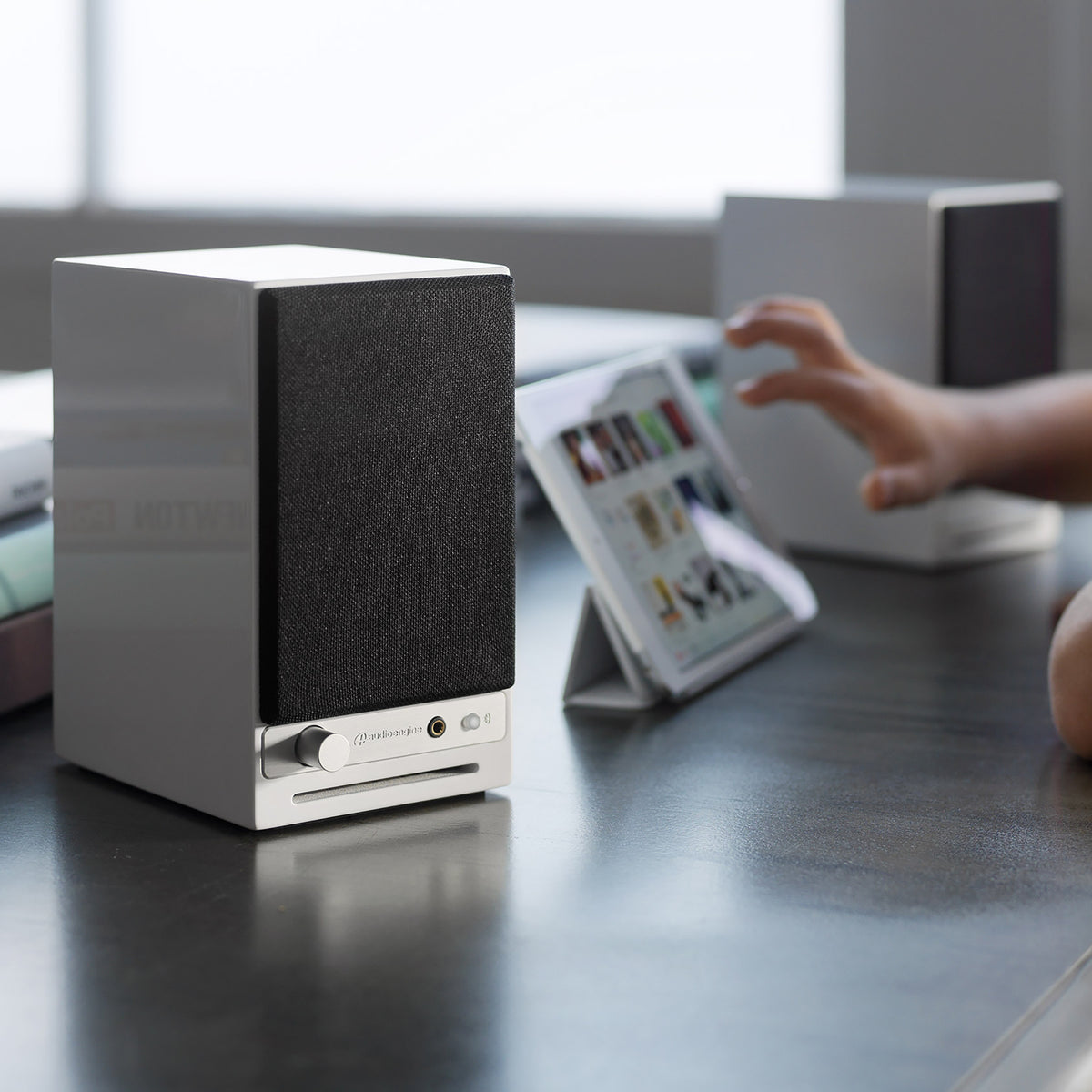 Audioengine: HD3 Powered Bluetooth Speakers - White