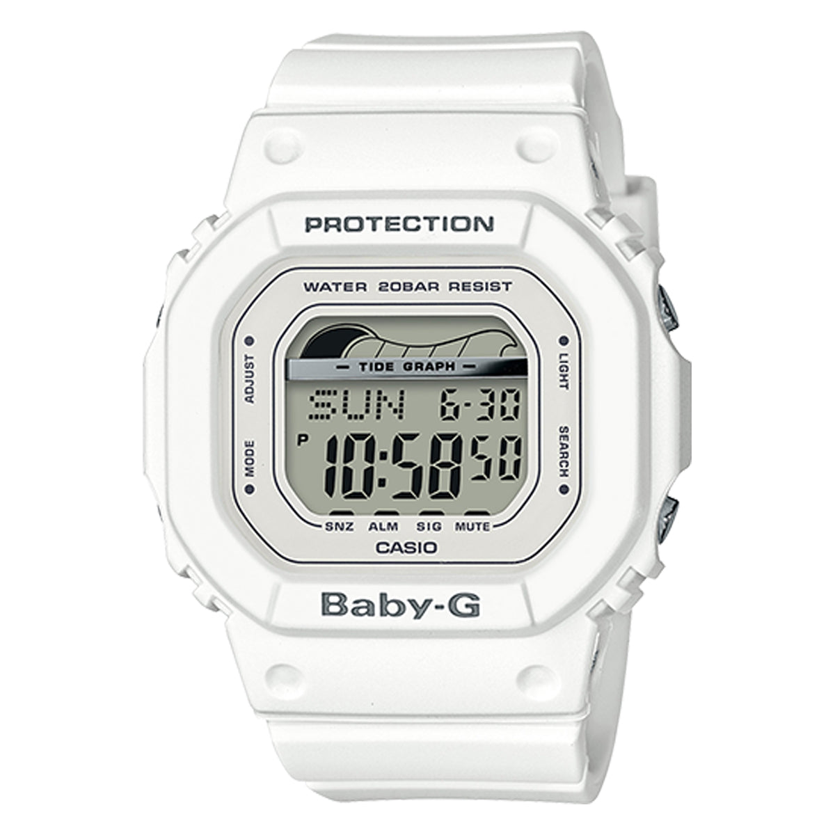 G-Shock: BLX560-7 G-Lide Baby-G Watch - White