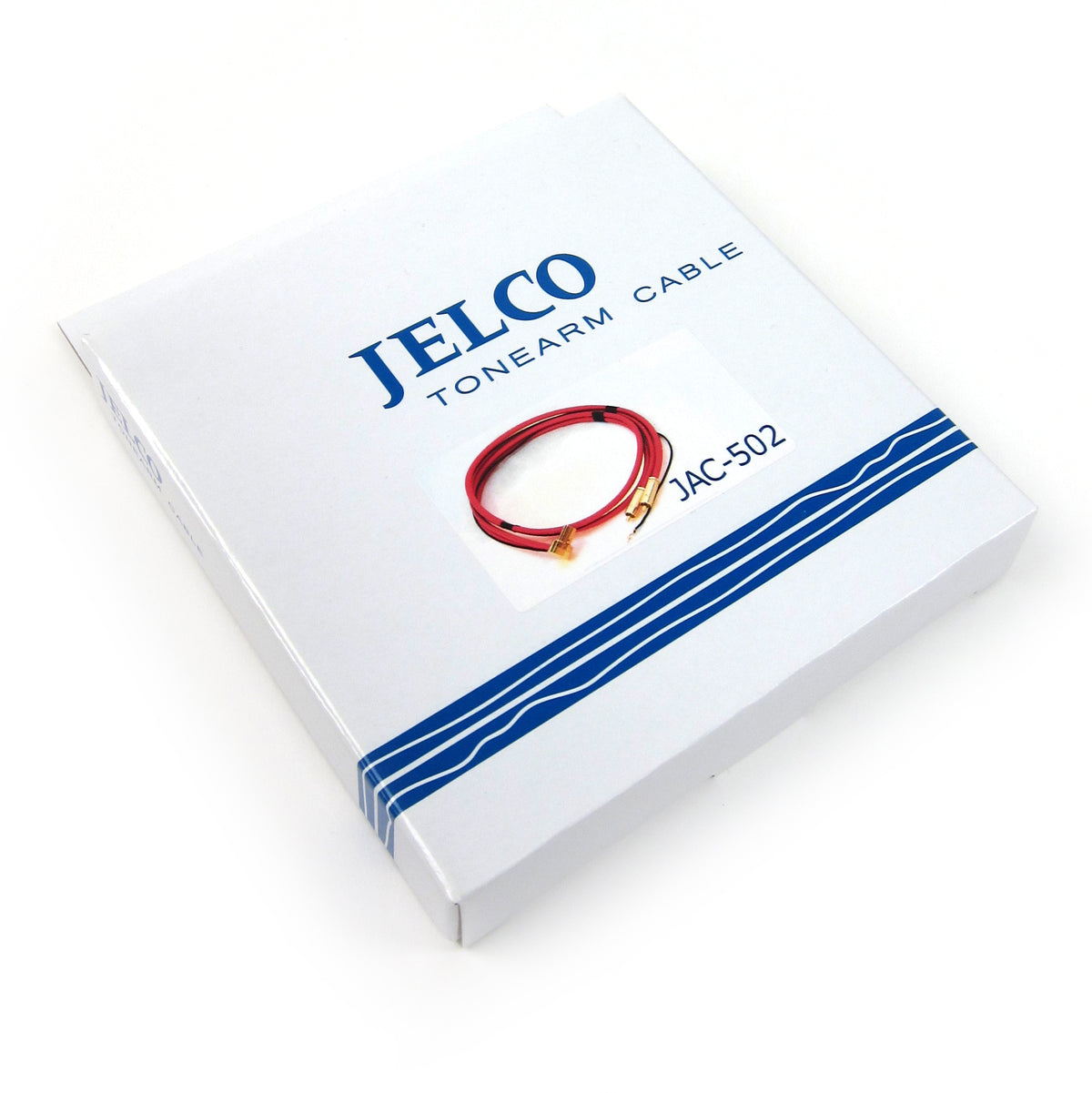 Jelco: JAC-502 Right Angle Type 5p Connector Phono Cable (Made In Japan)
