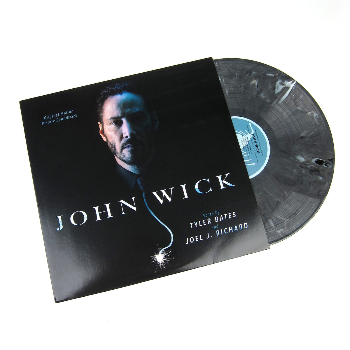 Tyler Bates And Joel J. Richard: John Wick Original Motion Picture Soundtrack (180g, Colored Vinyl) Vinyl LP (Record Store Day)