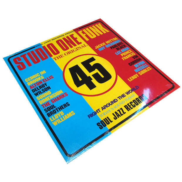 Soul Jazz: Studio One Funk 2LP