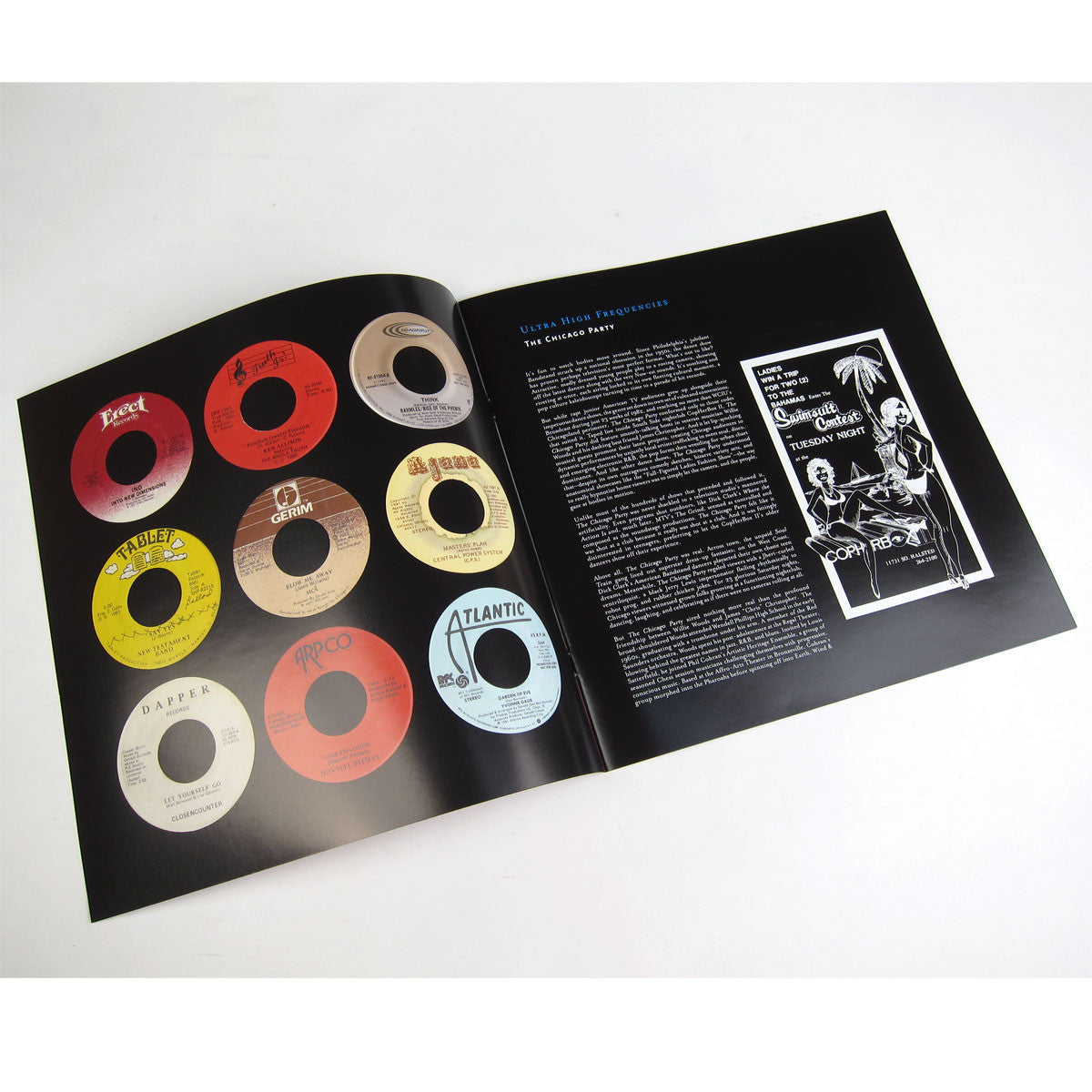 Numero Group: Ultra High Frequencies - The Chicago Party Vinyl 2LP+DVD