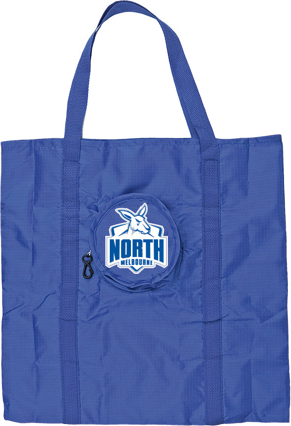 North Melbourne Kangaroos Foldaway Tote bag