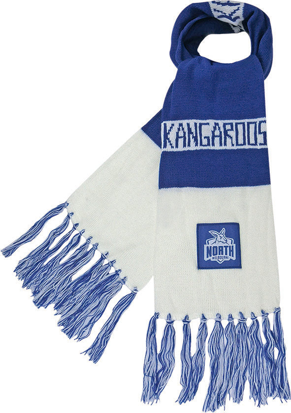 North Melbourne Bar scarf