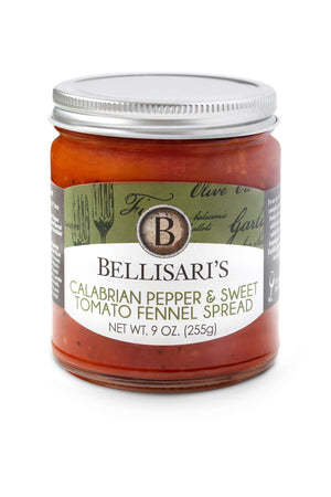 Calabrian Pepper & Sweet Tomato Fennel Spread