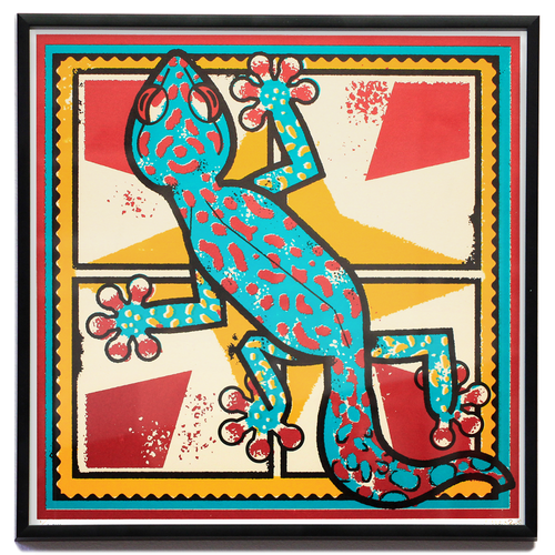 Sofrito Gecko Screenprint