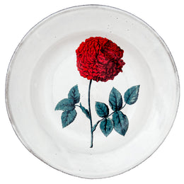 Dutch Hundred Leaved Rofe Soup Plate