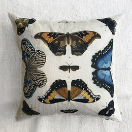 Mirrored Butterflies Pillow