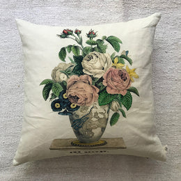 The Bouquet Pillow