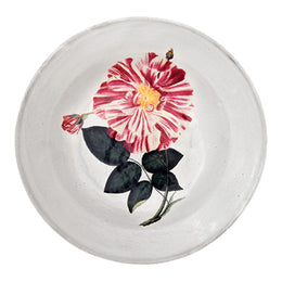 Rose Banco Soup Plate
