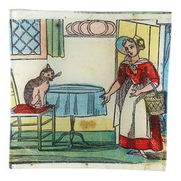 Lady with Cat