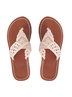 'Kasey' Crochet Sandals (2 Colors)