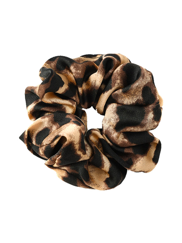 'Lima' Leopard Print Scrunchie (7 Colors)