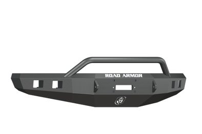 Road Armor 2015-2017 F150 Black Stealth Winch Bumper with Pre-Runner - 615R4B