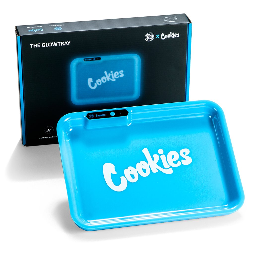 GlowTray x Cookies Limited Edition LED Rolling Tray