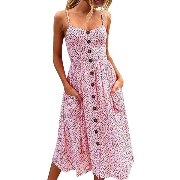 Vintage Summer Dress | Various Colours