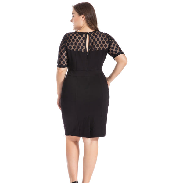 Jacquard Lace Dress