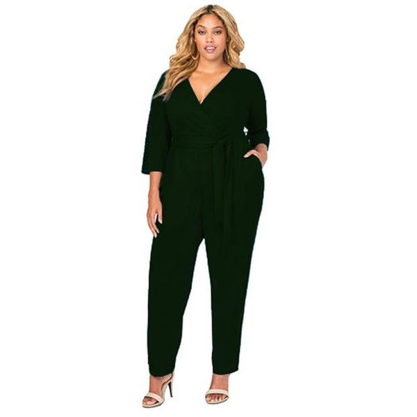 Long Sleeve Jumpsuit | Various Colours