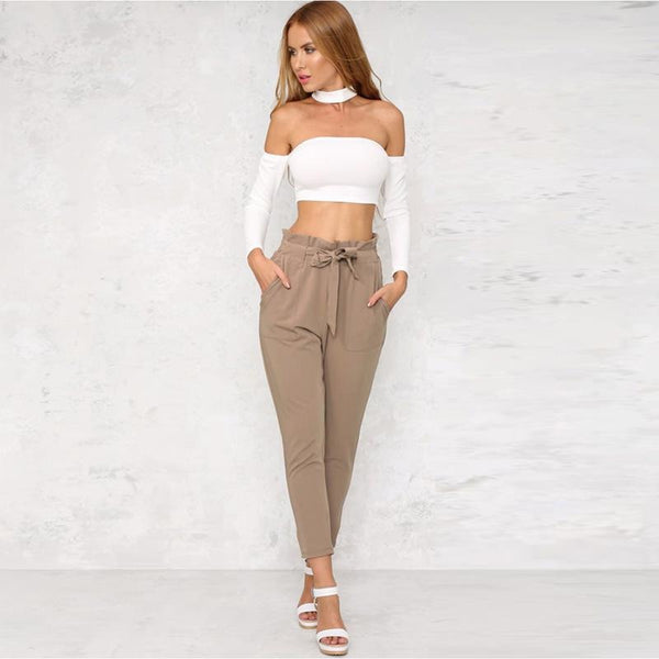 High Waist Harem Pants | Various Colours
