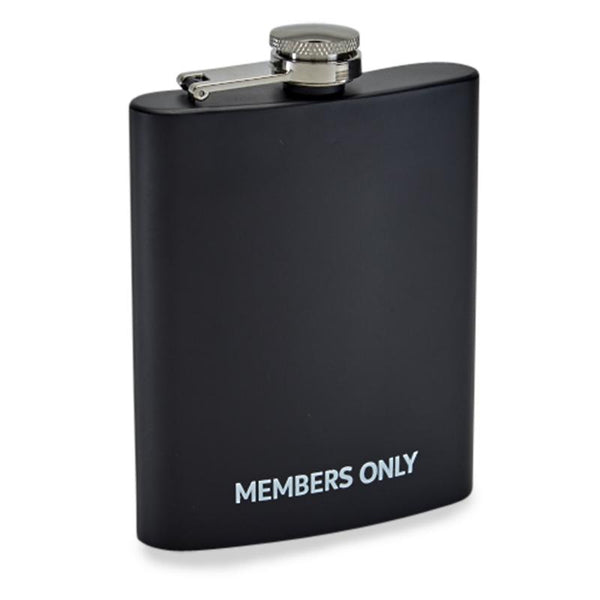 Members Only Rubber Coated Flask - Members Only Official